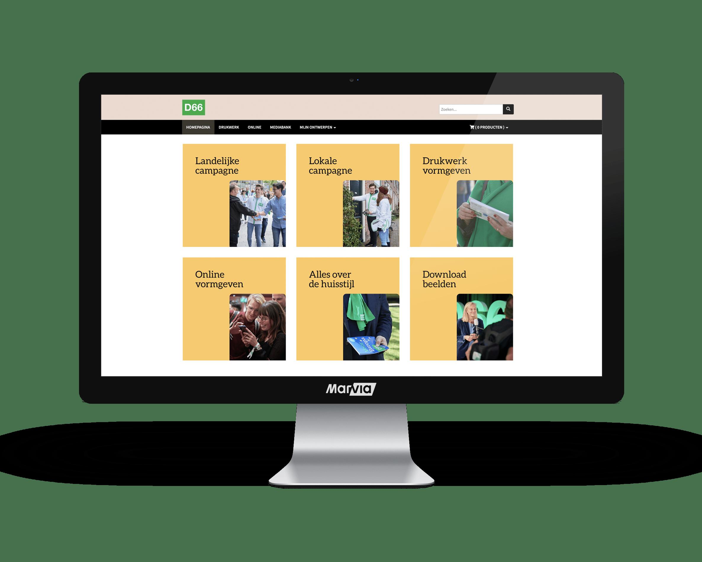 D66 Brand Portal